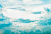 Strong cloudy in the sky — Stock Photo