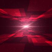 красный космос — Cтоковый вектор