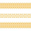 Tribal seamless pattern gold — Stock Vector #80016054