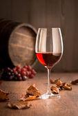 Red wine still life — Stock Photo