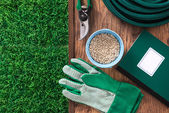 Farming and gardening tools — Stock Photo