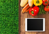 Food and gardening app — Stockfoto