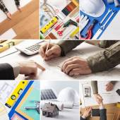 Home improvement and renovation — Stock Photo