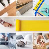 DIY and home renovation steps — Stock Photo