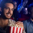������, ������: Friends enjoying in the movie theater