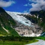 Norwegian glacier — Stock Photo #55423455