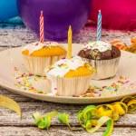 Delicious cupcakes — Stock Photo #55914727