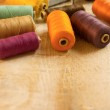 Colourful bobbins — Foto de Stock   #58555519