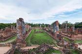 Ruined Temple, Wat Phra Si Sanphet, at Ayutthaya Historical Park — Stock Photo