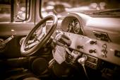 Classic Car Interior — Stockfoto