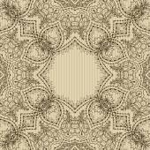 Pattern in vintage style — Stock Vector