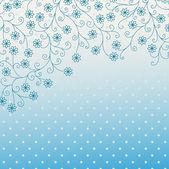 Seamless mönster med virvlar — Stockvektor