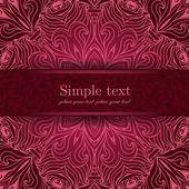 Elegant lace  background — Stock Vector