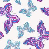 Decoratieve kleurrijke vlinders — Stockvector