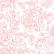 Seamless pattern with  roses. — Stock Vector #56814285