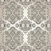 Seamless pattern with swirls — Stock Vector