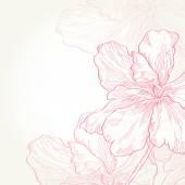 Beautiful flower — Stock Vector