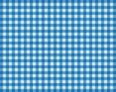 Tablecloth Background light blue and dark blue — Stock Photo
