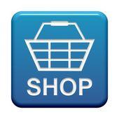 Button - Shop — Stock Photo