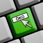 Computer Keyboard - Eco — Stock Photo #67262665