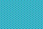 Honecomb background turquoise — Stock Photo