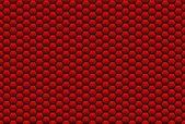 Honecomb background red — Stock Photo