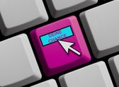 Computer Keyboard showing your chance — Stock Photo