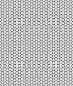 Honeycomb pattern grey and black — Foto Stock