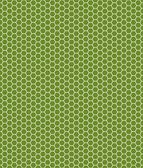Honeycomb pattern green and white — Stock Photo
