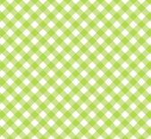 Diagonal Tablecloth Pattern green white — Stock Photo