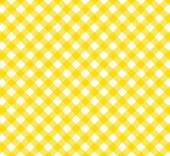 Diagonal Tablecloth Pattern orange white — Stock Photo