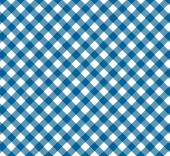 Diagonal Tablecloth Pattern with colours blue and white — Stock Photo