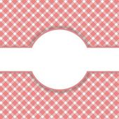 Checkered red Vintage Background  — Stock Photo