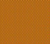 Honeycomb texture red yellow — Stock Photo