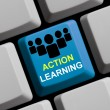 Action learning online — Stock Photo #67988903
