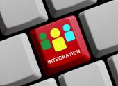 Integration online — Stock Photo