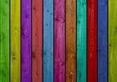 Colourful wooden boards — Stock Photo