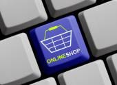 Onlin Shop online — Stock Photo