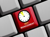 Time Management online — Stock Photo
