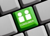 Consumer online — Stock Photo