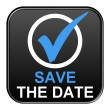 Button - Save the date — Stock Photo #68011715