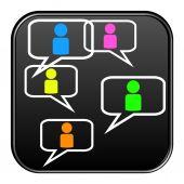 Button - Communication — Stock Photo