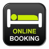 Button - Online Booking — Stock Photo