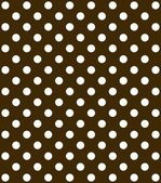 Brown Background with white dots — Stock Photo