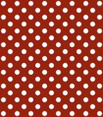 Red Background with white dots — Stock Photo