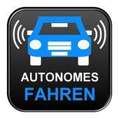 Button - Drive Autonomous — Stock Photo