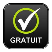 Button - Gratuit — Stock Photo