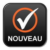 Button - Nouveau — Stock Photo