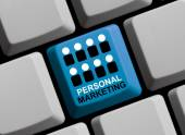 Personal Marketing Online — Stock Photo