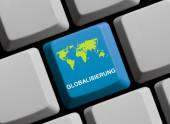Globalization Online — Stock Photo